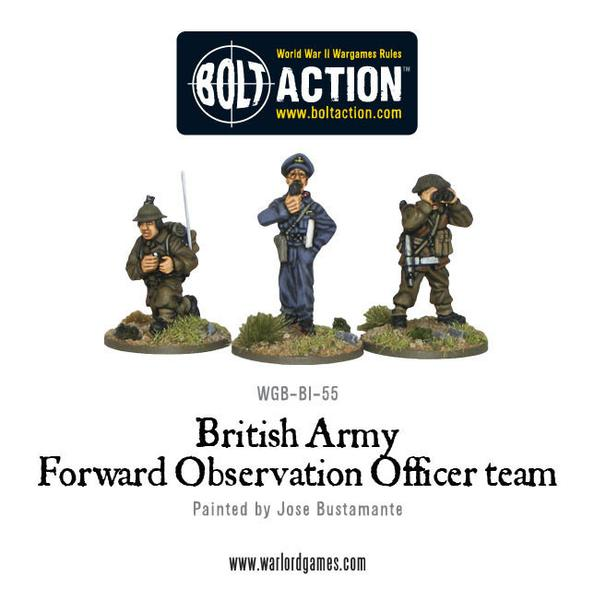 Bolt Action: British: Army Forward Observation Officer Team