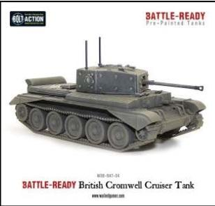 Bolt Action: British: Cromwell Cruiser Tank (Battle Ready)