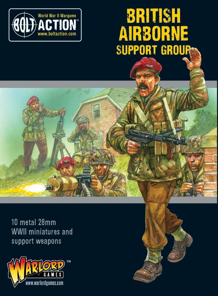 Bolt Action: British: British Airborne support group
