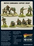 Bolt Action: British: British Commandos support group - 402211102 [5060572503069]