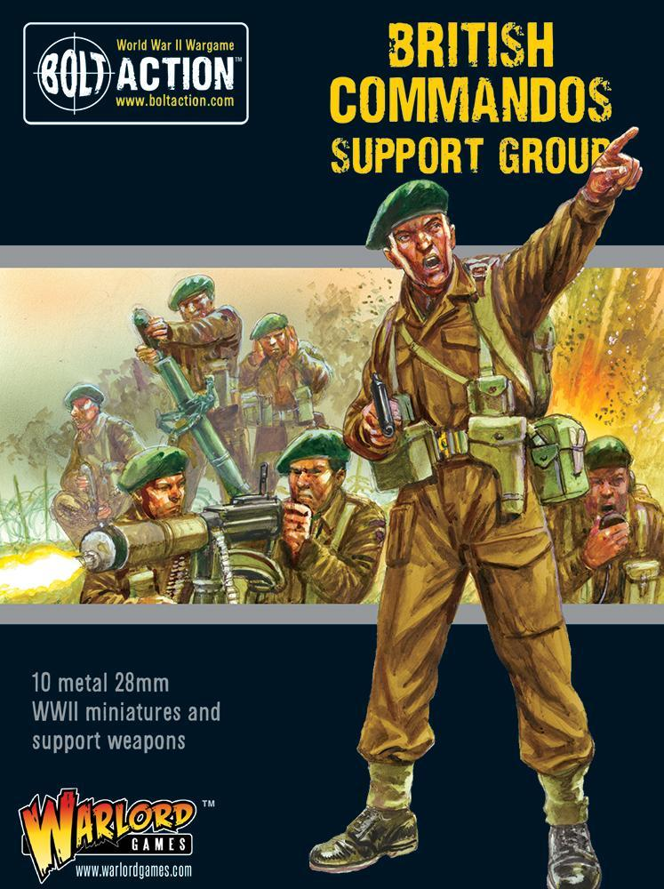 Bolt Action: British: British Commandos support group