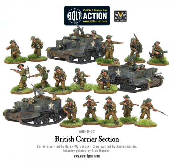 Bolt Action: British: Carrier Section
