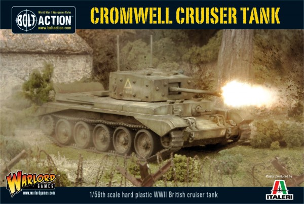 Bolt Action: British: Cromwell Cruiser Tank (Plastic)