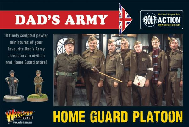 Bolt Action: British: Dads Army Box