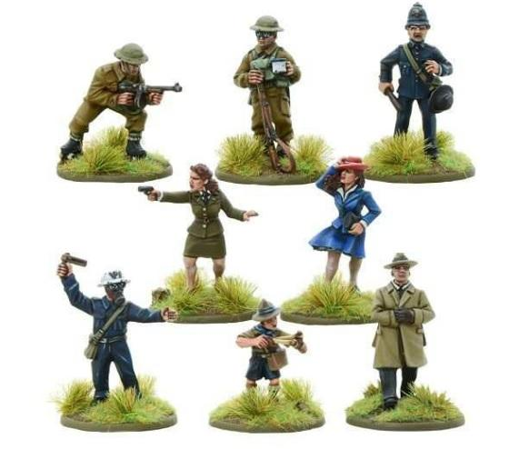 Bolt Action: British: Operation Sea Lion Defenders of the Realm