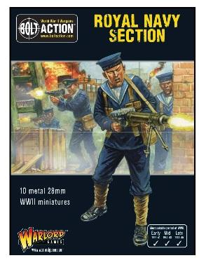 Bolt Action: British: Royal Navy Section