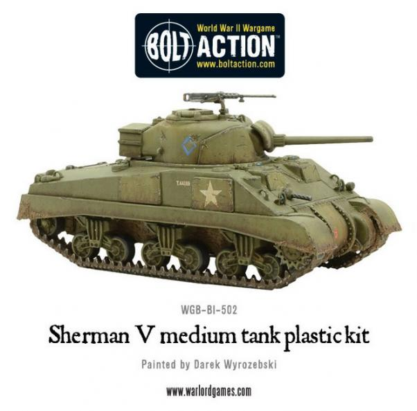 Bolt Action: British: Sherman V Medium Plastic Kit