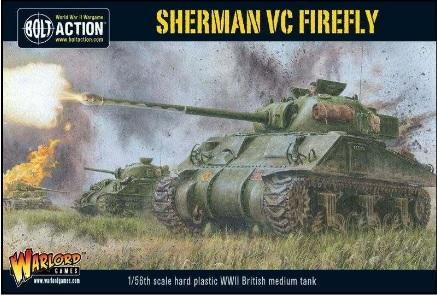 Bolt Action: British: Sherman VC Firefly Plastic Kit