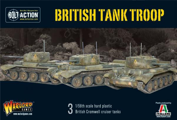 Bolt Action: British: Tank Troop (3 Cromwells)
