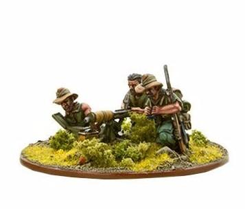 Bolt Action: Chindit Vickers MMG Team