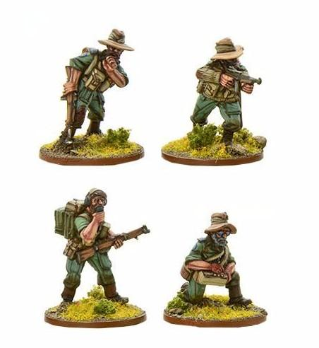 Bolt Action: Chindits: HQ (Single Piece)