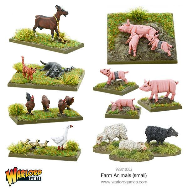 Bolt Action: Farm Animals (Small)