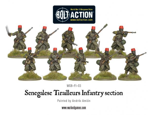 Bolt Action: French: Sengalise Tirailleur