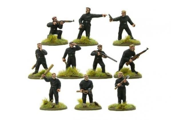 Bolt Action: German: BUF Action Squad