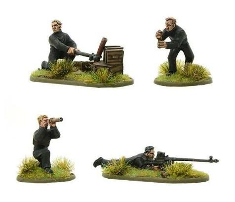 Bolt Action: German: BUF Anti-tank Team and Support Squad