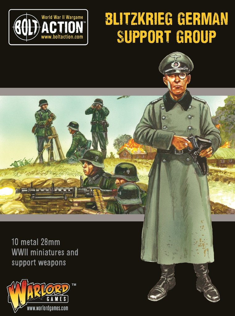 Bolt Action: German: Blitzkrieg Support Group