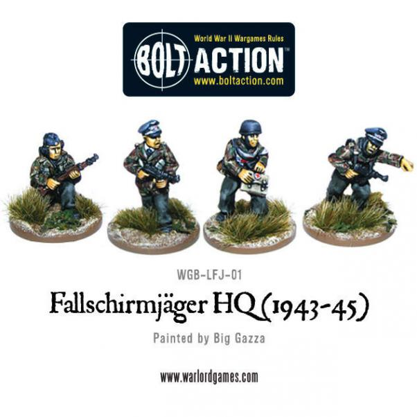 Bolt Action: German: Fallschirmjager HQ (1943-45)