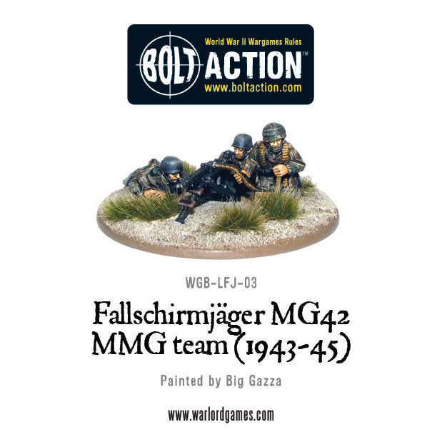 Bolt Action: German: Fallschirmjager MG42 MMG (1943-45)