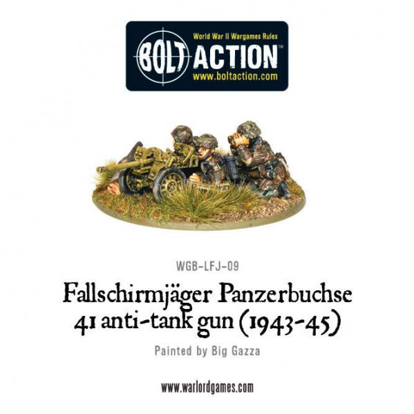 Bolt Action: German: Fallschirmjager Panzerbuche 41 Anti-tank Gun (1943-45)
