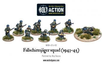 Bolt Action: German: Fallschirmjager Squad (1943-45)