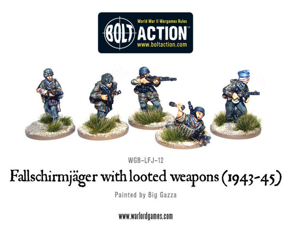 Bolt Action: German: Fallschirmjager with Looted Weapons