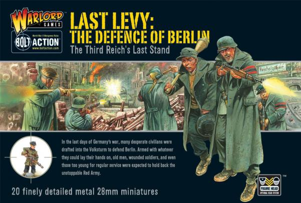 Bolt Action: German: Last Levy- The Defence of Berlin