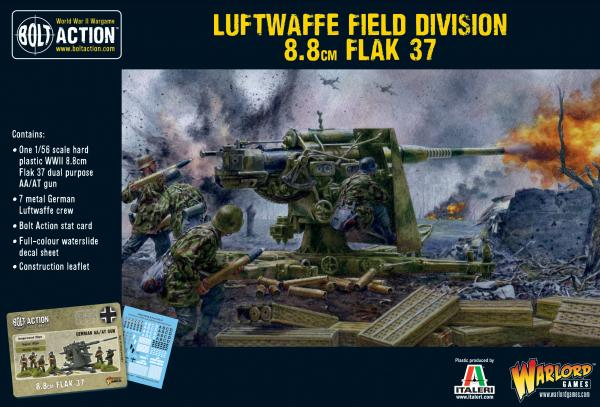 Bolt Action: German: Luftwaffe Field Division 88mm Flak 37