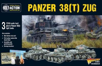 Bolt Action: German: Panzer 38(t) Zug