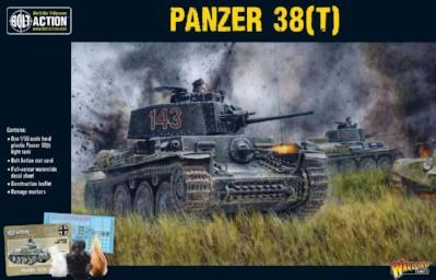 Bolt Action: German: Panzer 38(t)