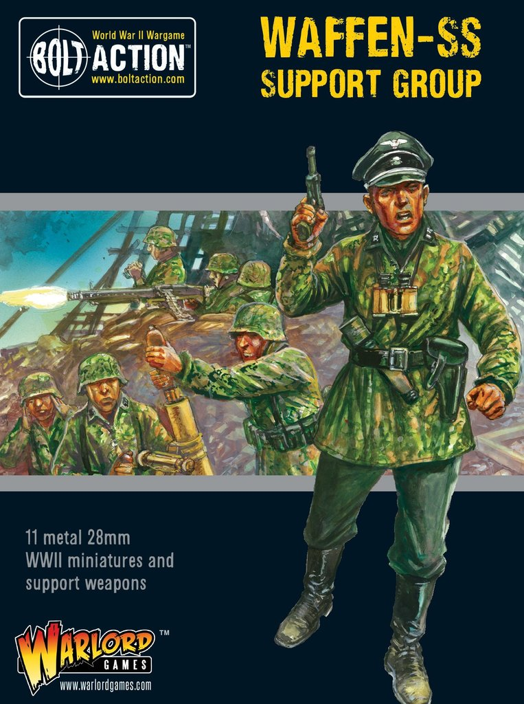 Bolt Action: German: Waffen-SS Support Group