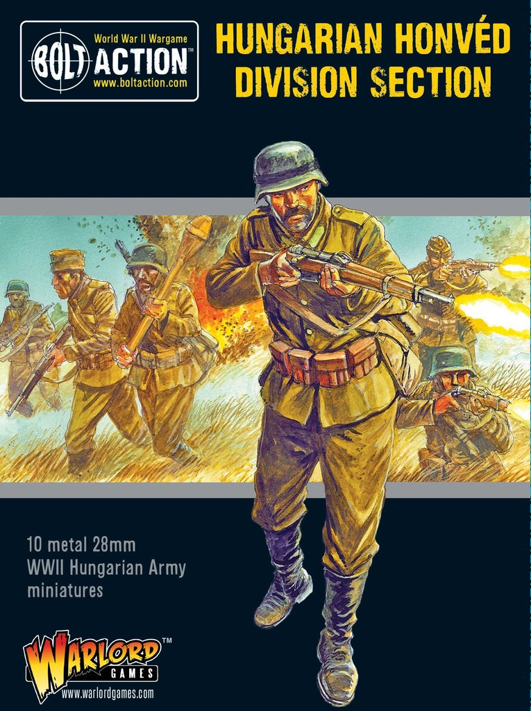 Bolt Action: Hungarian: Army Honved Division Section