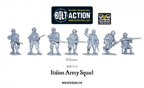 Bolt Action: Italian: Army Infantry Section
