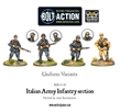 Bolt Action: Italian: Army Infantry Section - WGB-II-02 [5060393700890]