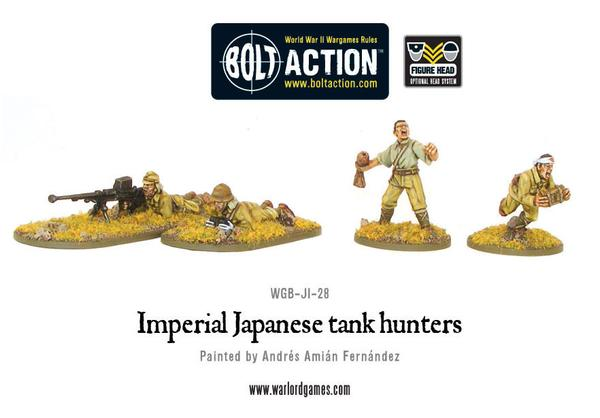 Bolt Action: Japanese: Tank Hunters