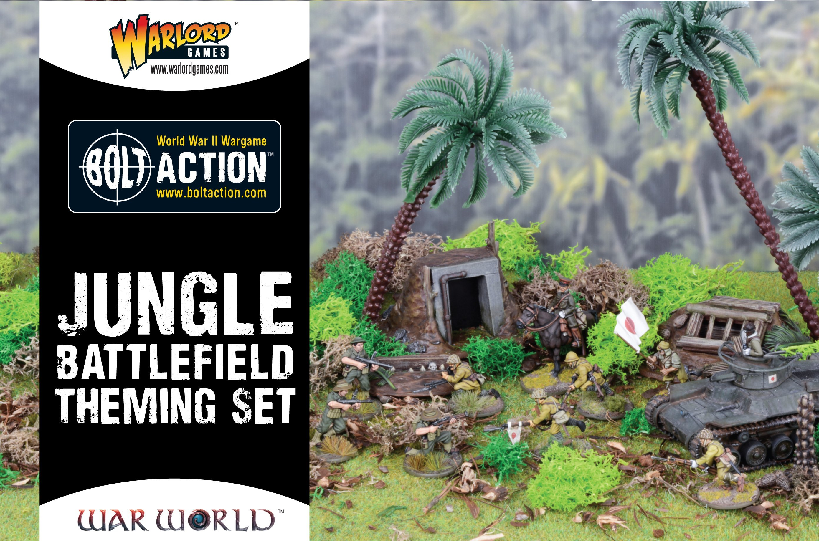 Bolt Action: Jungle Battlefield Theming Set