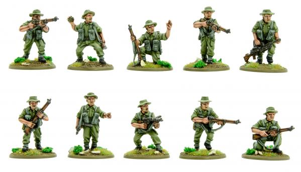Bolt Action Korean War: British: Infantry Section (Summer)