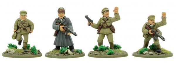 Bolt Action Korean War: Chinese: PVA Support Group