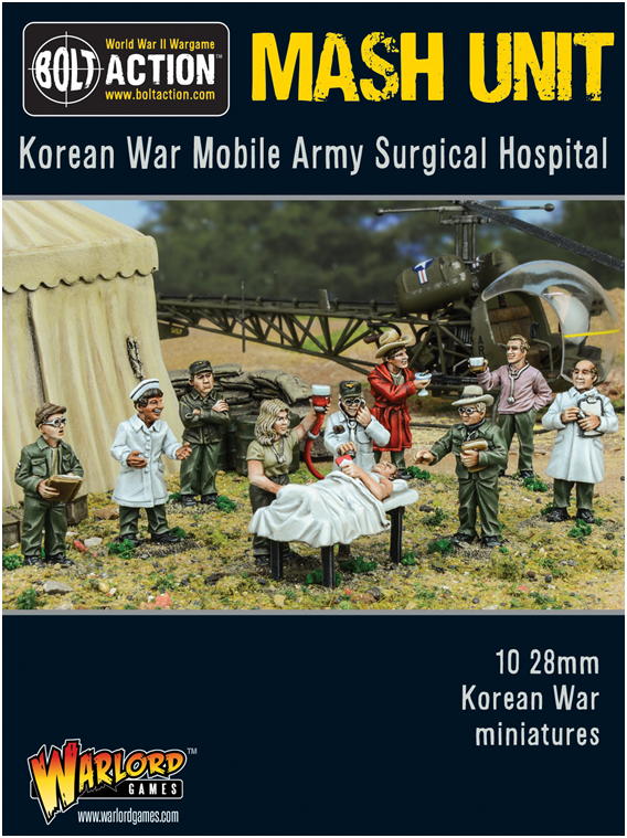 Bolt Action: Korean War - Mash Unit