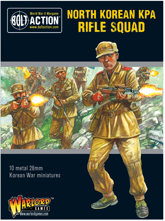 Bolt Action Korean War: North Korean: KPA Rifle squad