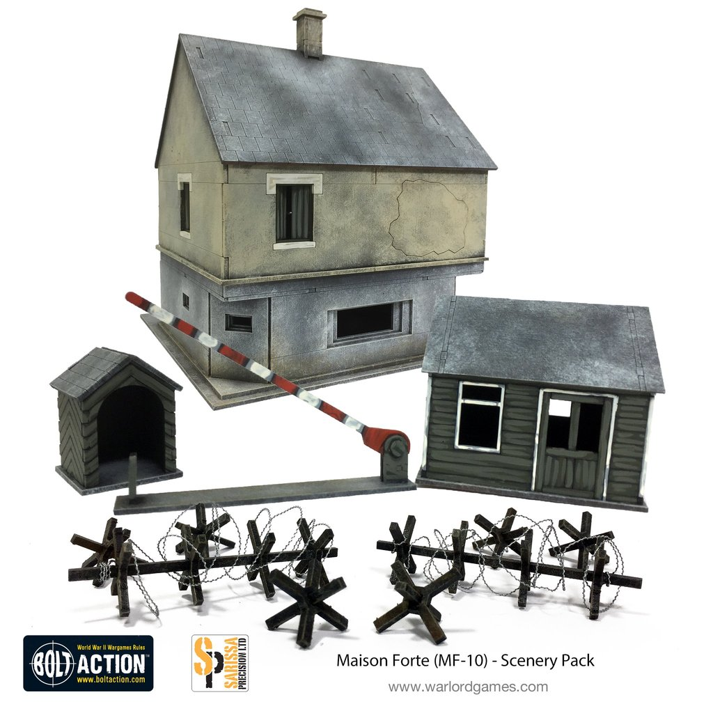 Bolt Action: Maison Forte/Maginot Terrain Set