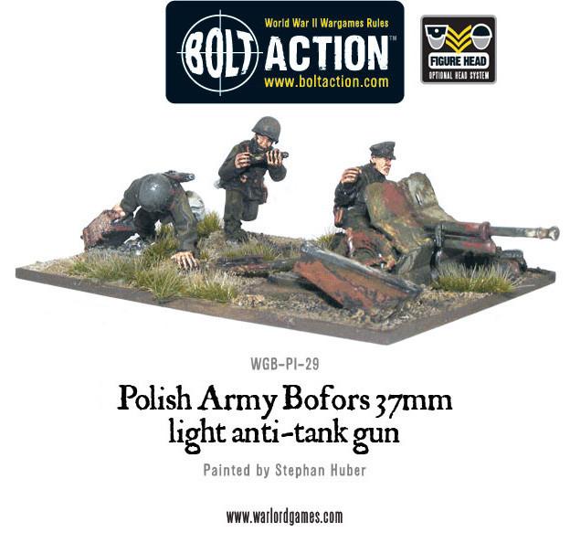 Warlord Games - Bolt Action: Polish: Bofors 37mm Light Anti