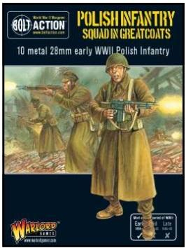 Bolt Action: Polish: Infantry Squad In Greatcoats