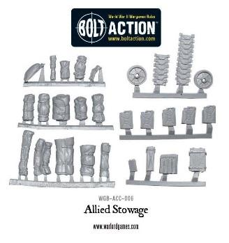Bolt Action: Allied Stowage