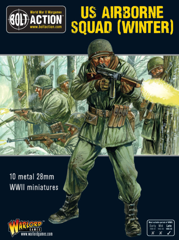 Bolt Action: USA: US Airborne Squad (Winter)