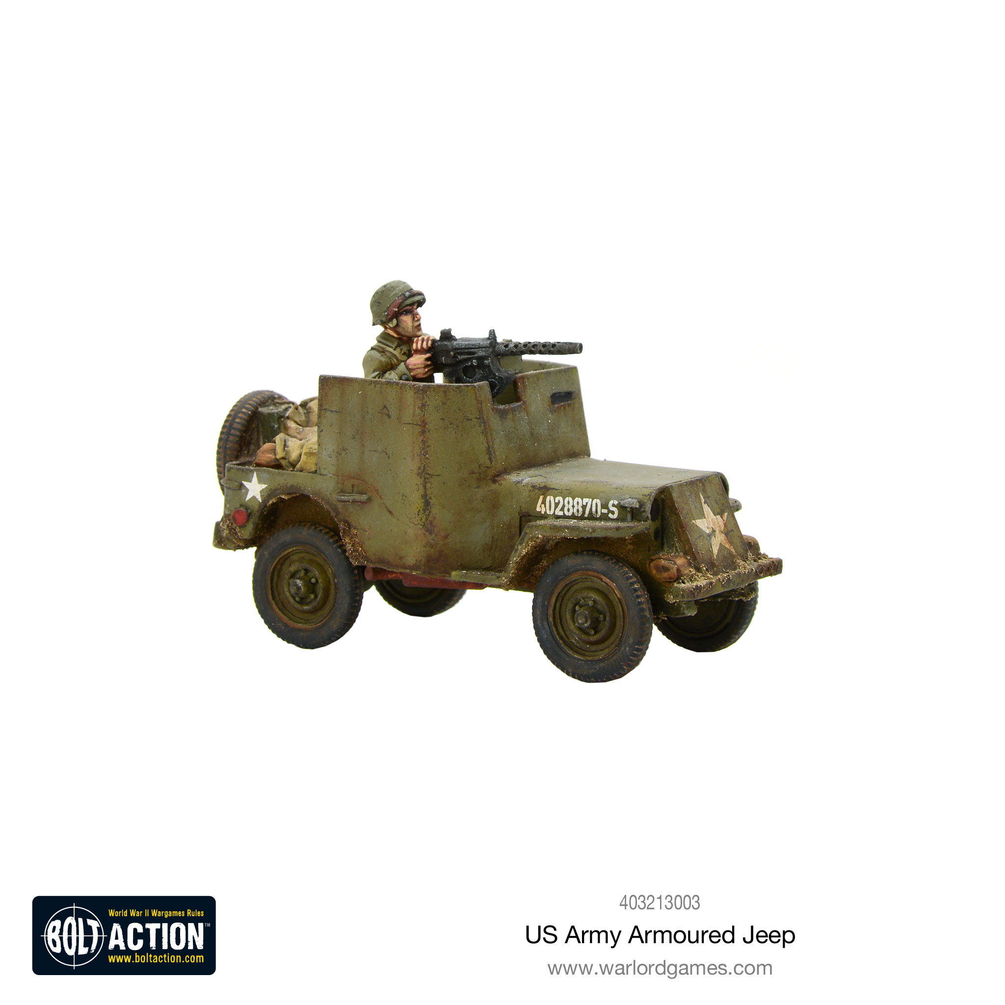 Bolt Action: USA: US Armoured Jeep