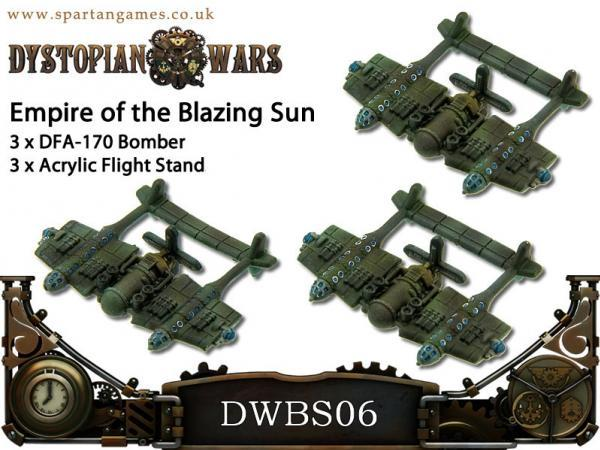 Dystopian Wars: Empire Of The Blazing Sun: Bombers