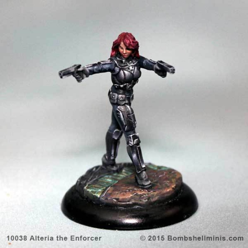 Bombshell Miniatures: Alteria the Enforcer