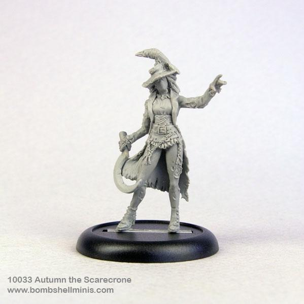 Bombshell Miniatures: Autumn the Scarecrone