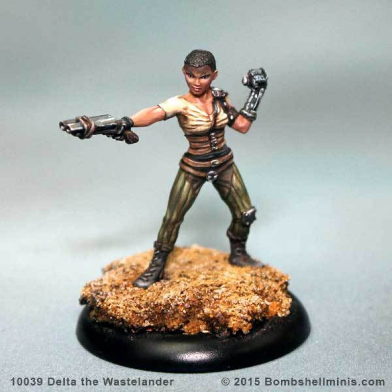 Bombshell Miniatures: Delta the Wastelander