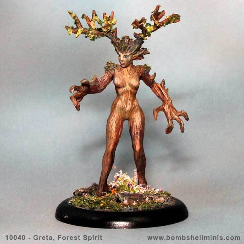 Bombshell Miniatures: Greta the Forest Spirit